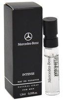 Mercedes Benz Benz Eau de Toilette Spray Vial for Men, Intense, 0.05 Ounce