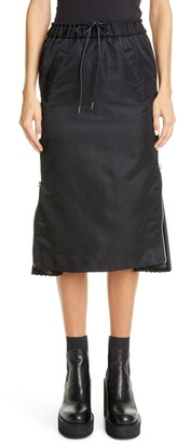 Sacai MA-1 Side Gusset Skirt