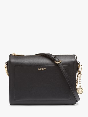 DKNY Bryant Sutton Medium Leather Zip Top Cross Body Bag