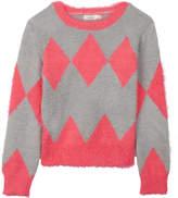 Billieblush Billie Blush Harlequin print jumper 4-12 years