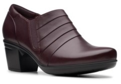 Clarks Collection Women's Emslie Guide Leather Shooties Women's Shoes