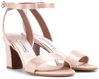 Tabitha Simmons Leticia satin sandals