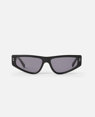 Stella McCartney black square sunglasses