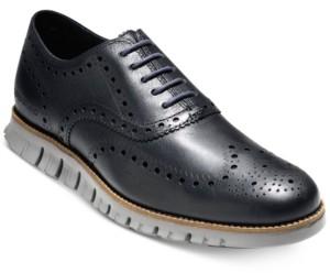 Cole Haan Men's ZeroGrand Wingtip Oxfords Men's Shoes