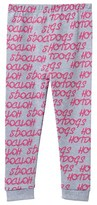 Gardner and the gang Grey and Pink Hotdog Print Legging