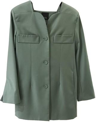 BEVZA Green Jacket for Women