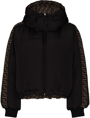 Fendi reversible FF motif puffer jacket