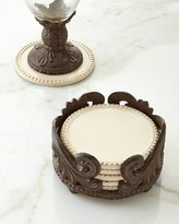 GG Collection G G Collection S/6 ACANTHUS COASTERS