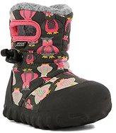 Bogs Kids' B-Moc Puff Owl Winter Snow Boot