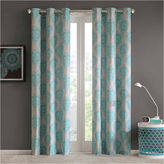 Asstd National Brand Lily Grommet-Top Curtain Panel