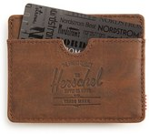 Herschel Men's 'Charlie' Leather Card Case - Brown