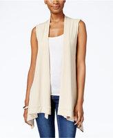 JM Collection Handkerchief-Hem Vest, Only at Macy's
