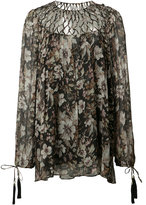 Zimmermann Gossamer Lattice blouse - women - Polyester/Silk - 1
