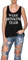 Triumph Wine Drinking Team Tank
