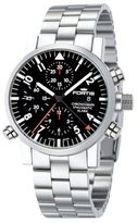 """Fortis Men's 627.22.11 M """"Spacematic"""" Stainless Steel Automatic Watch"""