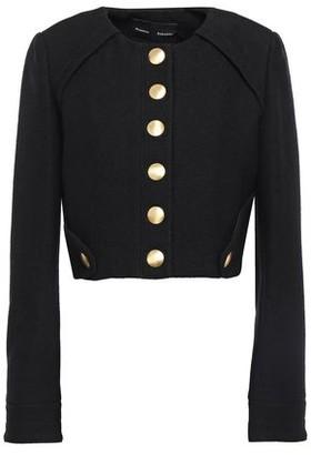 Proenza Schouler Snap-detailed Boucle Cotton-blend Jacket