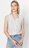 Equipment Sleeveless Alma Silk Shirt
