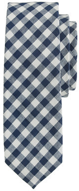 J.Crew Extra-long cotton tie in classic gingham