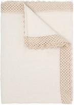 Large Macrame' Linen Table Cloth