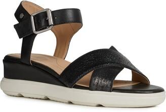 Geox Pisa Wedge Sandal