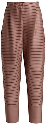 Issey Miyake Striped Knit Pants