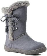 Western Chief Gray Aviana Slipper Boot - Kids