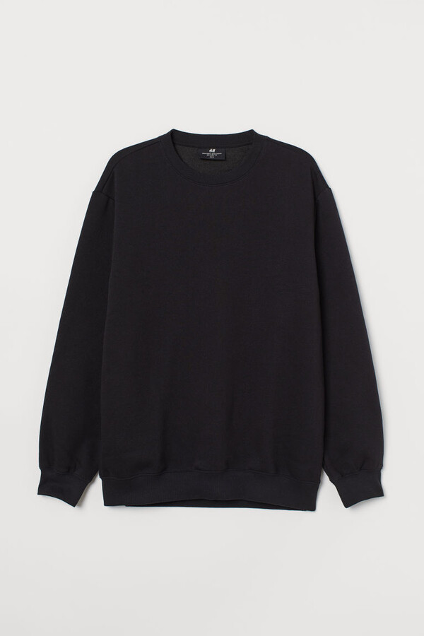 Thumbnail for your product : H&M Relaxed Fit Sweatshirt - Black