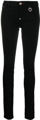 Philipp Plein TM mid-rise skinny jeans