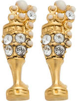 Marc Jacobs Champagne Flute Studs