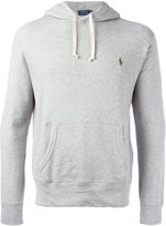 Polo Ralph Lauren embroidered logo hoodie - men - Cotton - XL