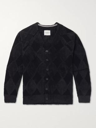 TAKAHIROMIYASHITA TheSoloist. Textured Cotton-Blend Cardigan