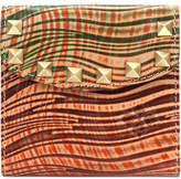 Patricia Nash Wavy Striped Reiti Bifold Frame Wallet