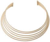 Lauren Ralph Lauren Gold-Tone Multi-Row Open Choker Necklace