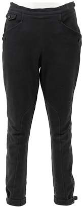 Hermes \N Black Cloth Trousers
