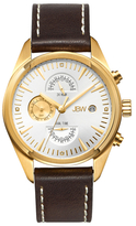 JBW Woodall 18K Yellow Gold-Plated Stainless Steel & Diamond Chronograph Watch, 44mm
