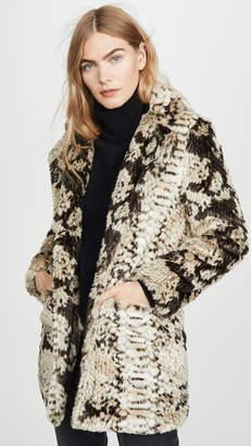 Apparis Sydney Faux Fur Coat