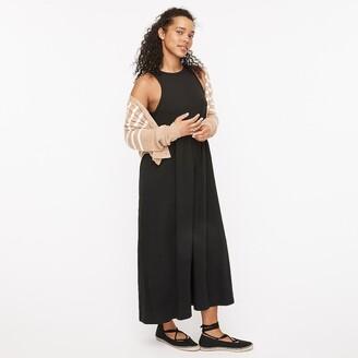 J.Crew Knit cutaway tank maxi dress