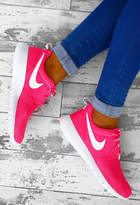 Pink Boutique Nike Roshe Pink and White Trainers