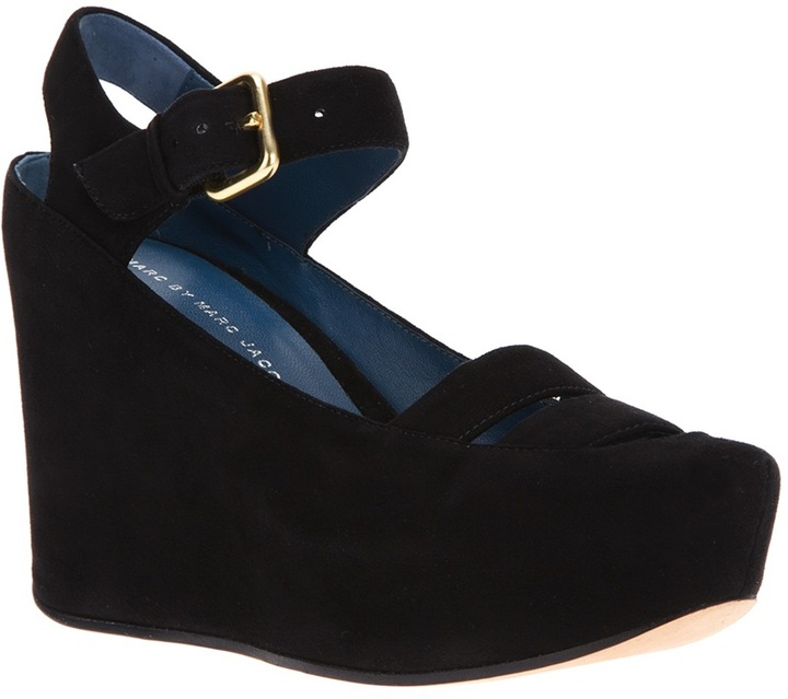 Marc by Marc Jacobs platform wedge shoe