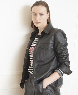 MKT Studio Clady Faux Leather Jacket - L