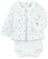 Petit Bateau Baby boys printed shirt-bodysuit