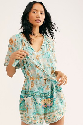Free People Spell And The Gypsy Collective Seashell Romper by Spell and the Gypsy Collective at