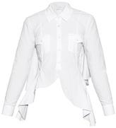 Marques Almeida MARQUES'ALMEIDA Open-back ruffled shirt