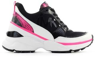 Michael Kors Mickey Black Fuchsia Sneaker