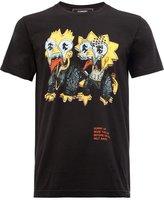 Dom Rebel cartoons print T-shirt - men - Cotton - XL
