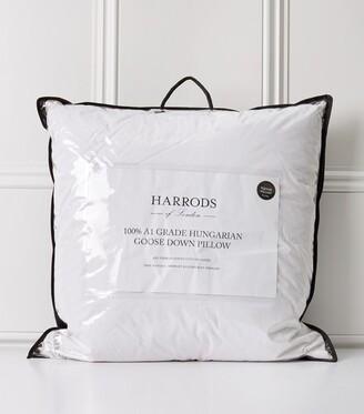 Harrods Hungarian Goose Down Square Pillow 65cm x 65cm