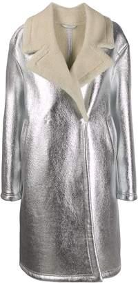 Essentiel Antwerp oversized shearling coat