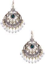 Amrita Singh Women's Gayatri Faux Pearl & Crystal Drop Earrings