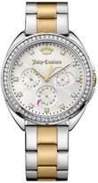 Juicy Couture Capri Silver Multi Tone Dial Two Tone Bracelet Ladies Watch