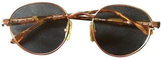 Missoni Gold Metal Sunglasses